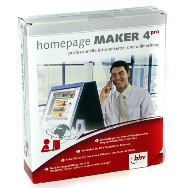 Erstellen Ihrer eigenen Homepage mit Onlineshop | Software homepage maker 4 pro